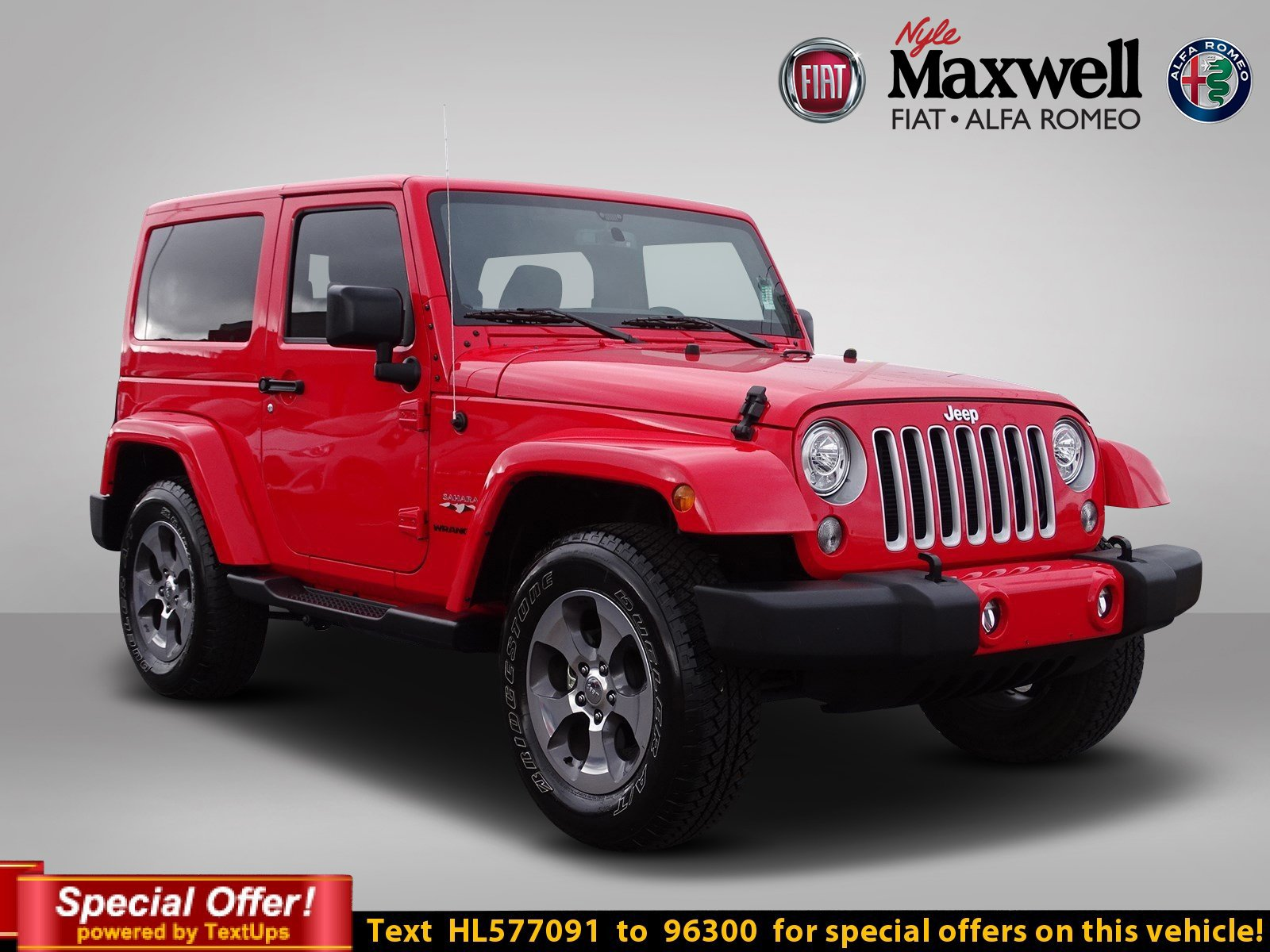 Certified Pre Owned 2017 Jeep Wrangler Sahara Convertible in Taylor