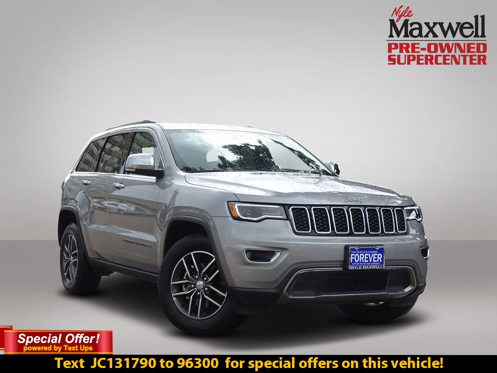 Certified Pre Owned 2018 Jeep Grand Cherokee Limited