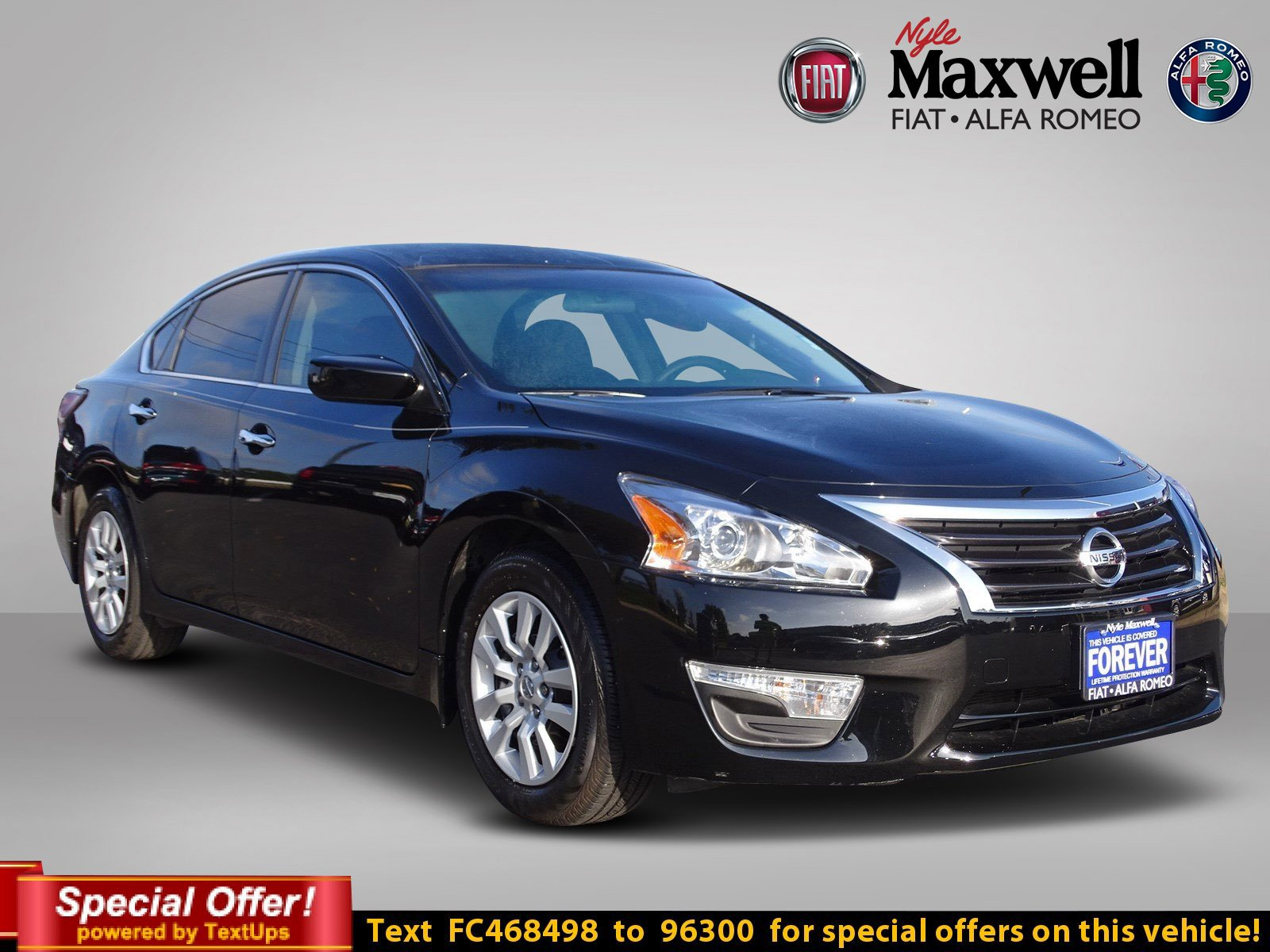 Pre Owned 2015 Nissan Altima 2 5 S 4dr Car in Taylor FC