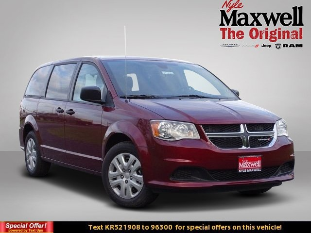 New 2019 Dodge Grand Caravan Se Passenger Van In Taylor Kr521908