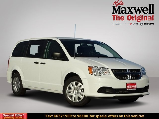 New 2019 Dodge Grand Caravan Se Passenger Van In Taylor Kr521909