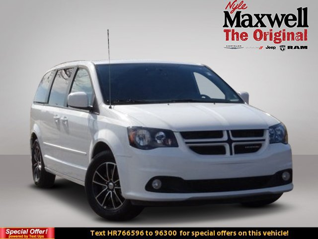 Certified Pre Owned 2017 Dodge Grand Caravan Gt Mini Van Passenger
