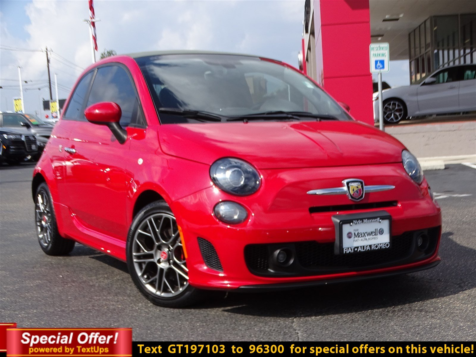 Certified Pre Owned 2016 FIAT 500c Abarth Convertible in Taylor