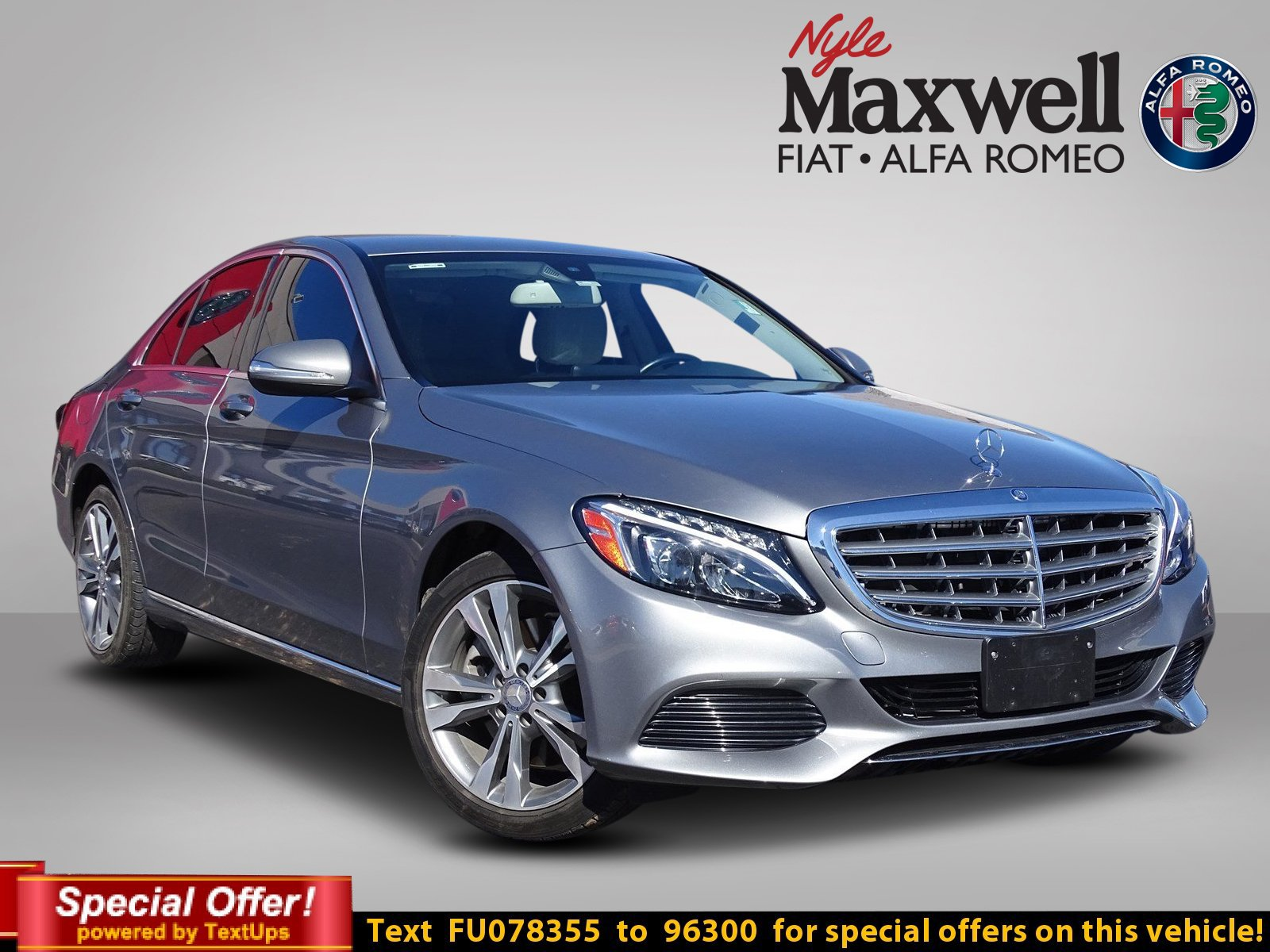 Pre Owned 2015 Mercedes Benz C Class C 300 4dr Car in Taylor