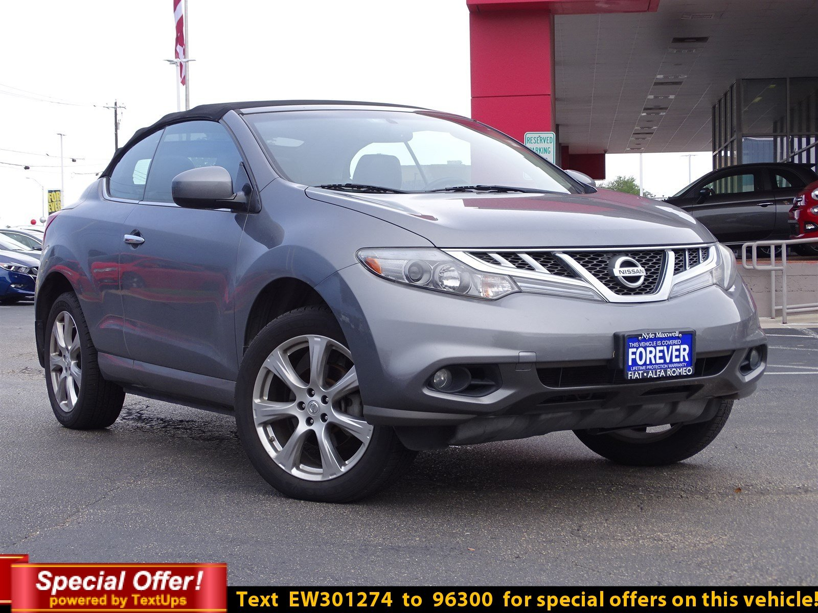 ... Pre Owned 2014 Nissan Murano CrossCabriolet Base Convertible In