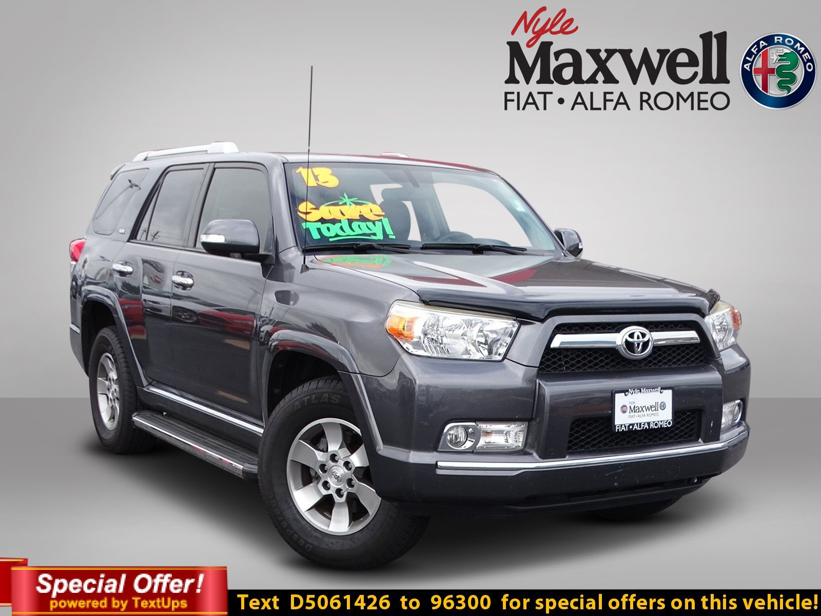 Pre Owned 2013 Toyota 4Runner SR5 Sport Utility in Taylor D