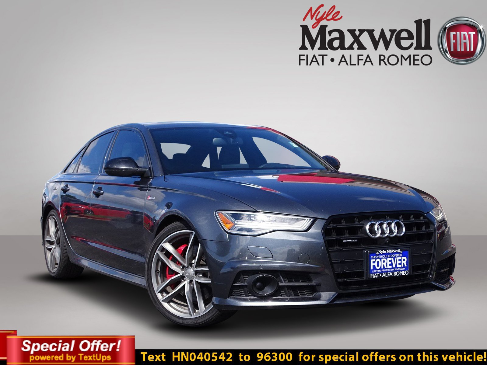 Pre Owned 2017 Audi A6 petition Prestige 4dr Car in Taylor