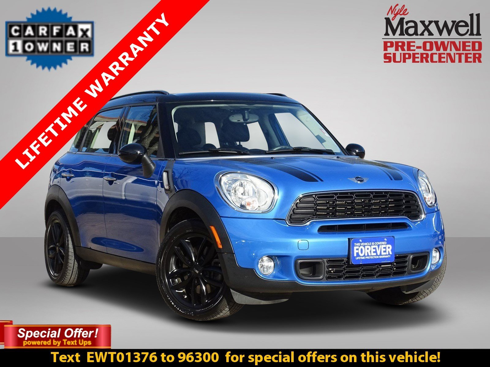 pre-owned 2014 mini cooper countryman s sport utility in taylor