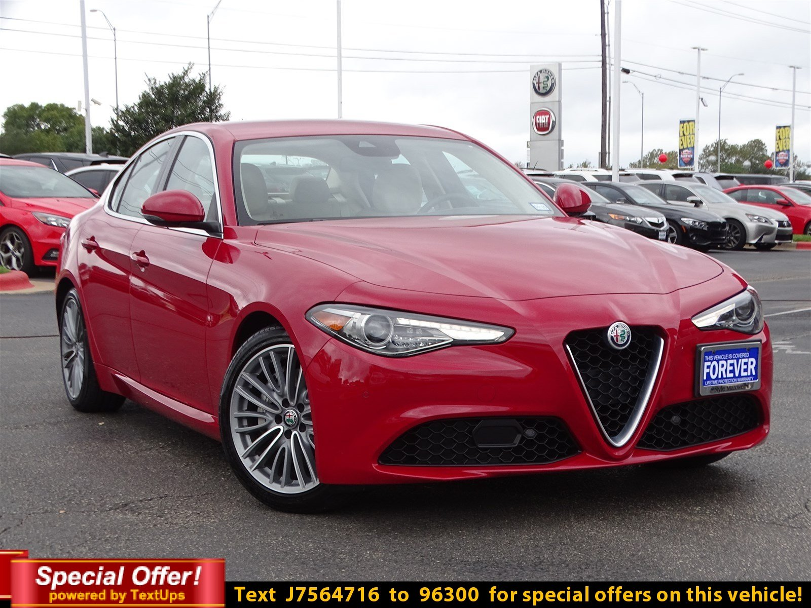 Certified Pre Owned 2018 Alfa Romeo Giulia Ti Lusso 4dr Car in