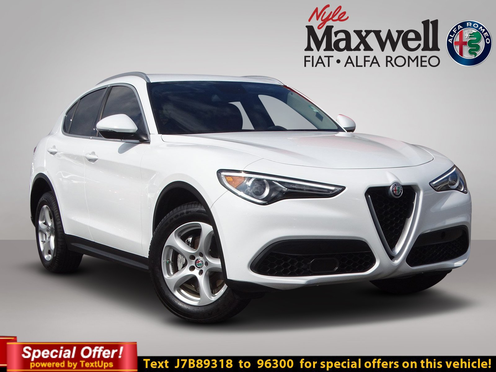 Certified Pre Owned 2018 Alfa Romeo Stelvio Base Sport Utility in